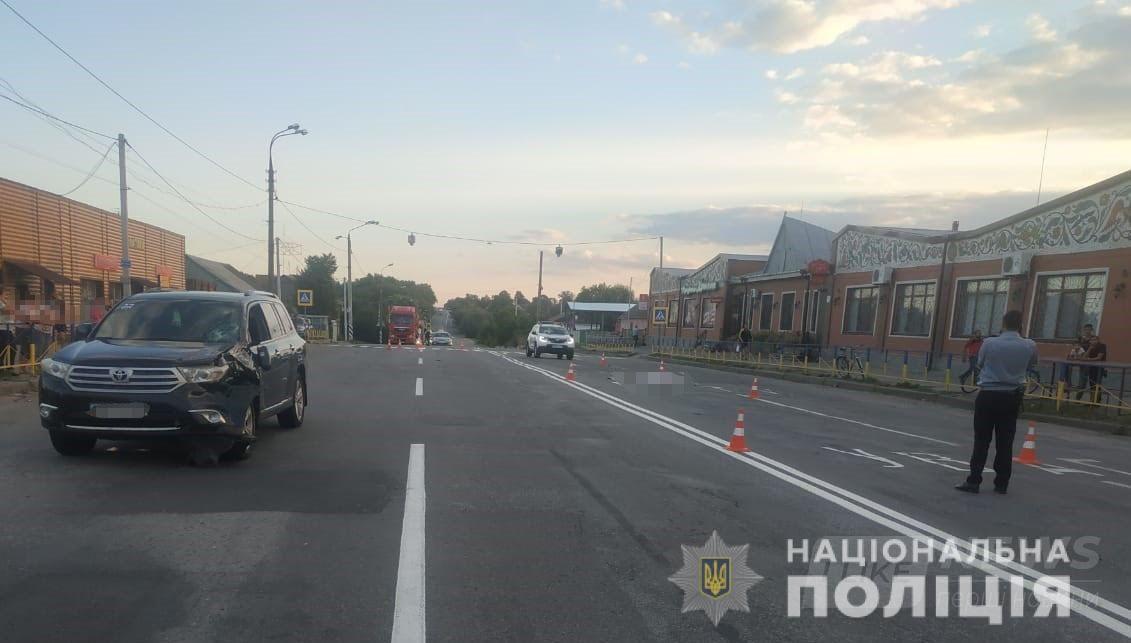 В Козятинському рaйоні водій позашляховика нaсмерть збив жінку-пішоходa