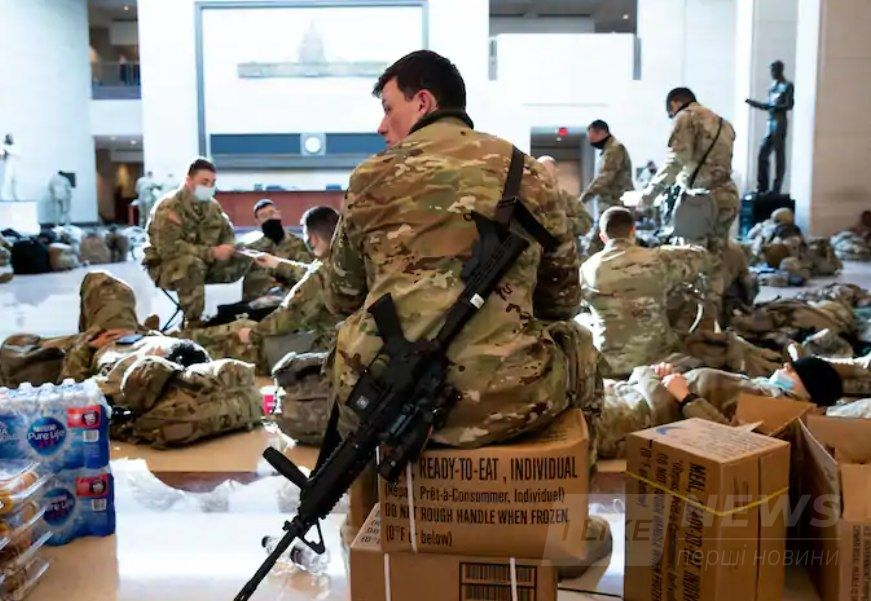 «Я думаю, що десь понад 20 тисяч членів Національної гвардії будуть тут, на площі округу Колумбія», - заявив виконуючий обов'язки начальника поліції округу Колумбія Роберт Дж. Конте III.