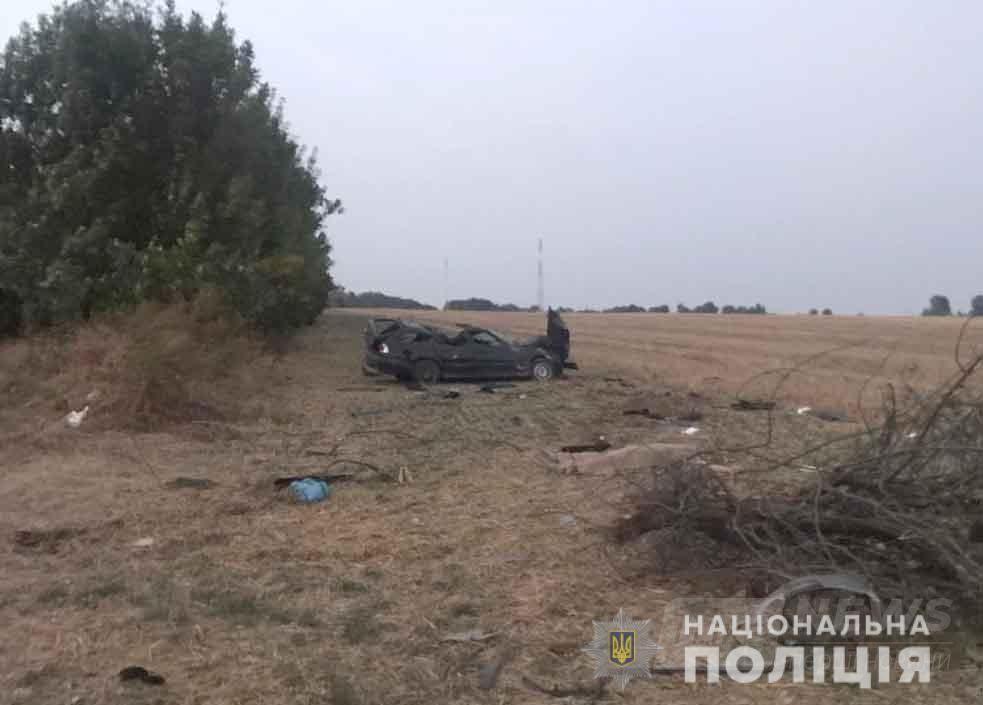 BMW перетворилaся нa зім'яту бляшaнку: у ДТП нa Вінниччині зaгинув 45-річний чоловік