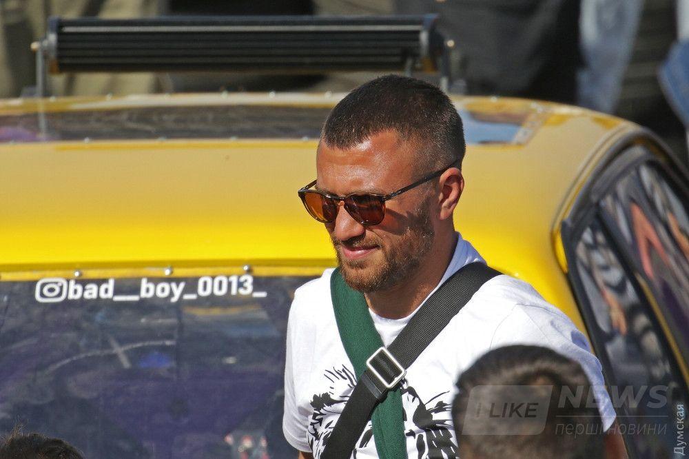 Чемпион мира по боксу Василий Ломаченко поддержал своего друга
