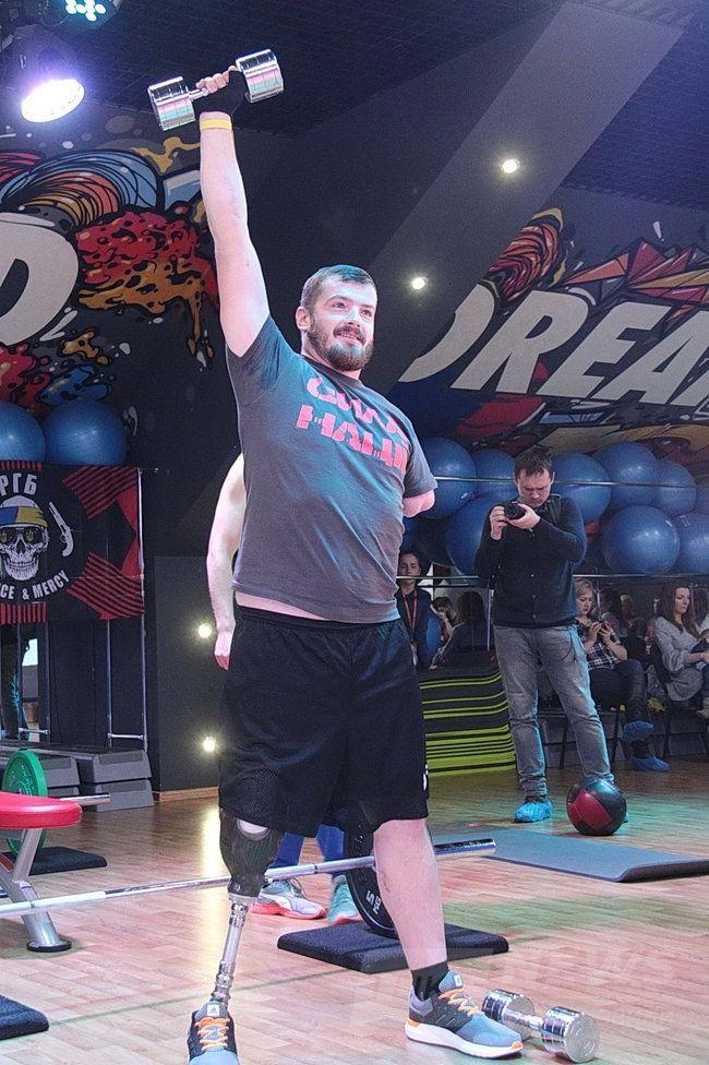 Показательные соревнования инвалидов-ветеранов АТО Сила нации прошли в Одессе 03