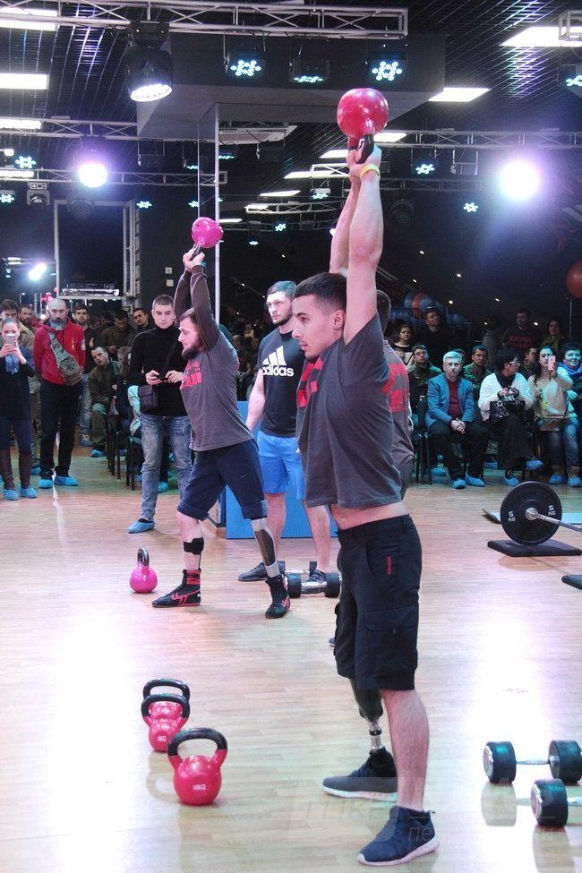 Показательные соревнования инвалидов-ветеранов АТО Сила нации прошли в Одессе 04