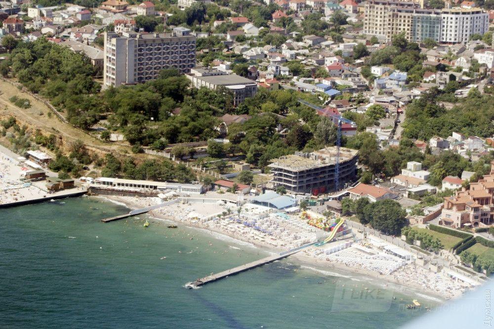 Пляж на 16 ст. Фонтана