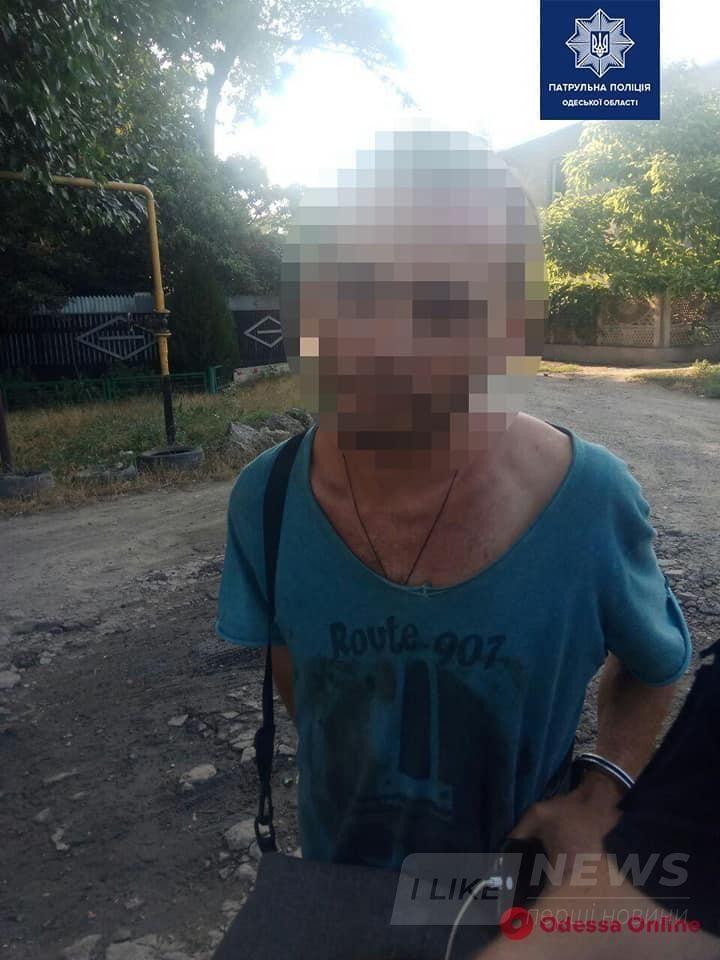 Одесские патрульные задержали очередного «закладчика»