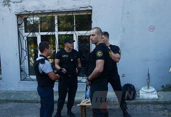 Одесское художественное училище опять захватили рейдеры