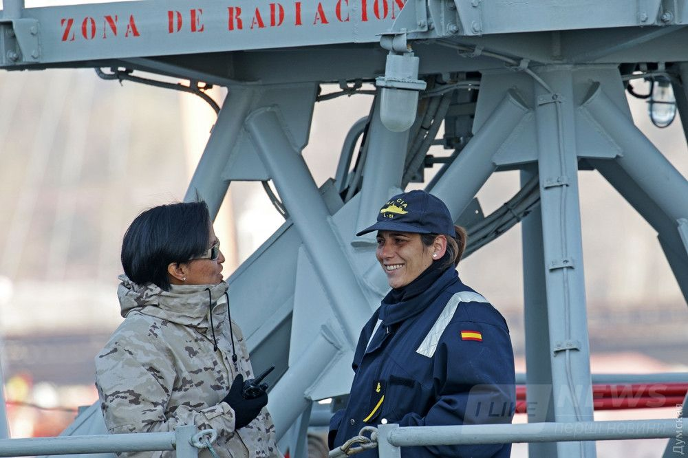 Испанские военнослужащие