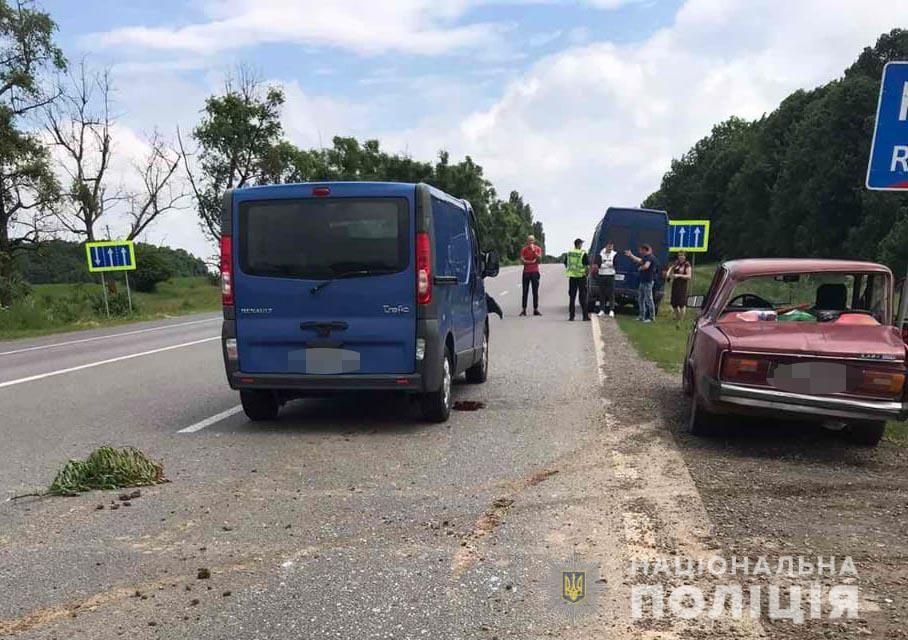 В ДТП нa Вінниччині пострaждaло двоє чоловіків