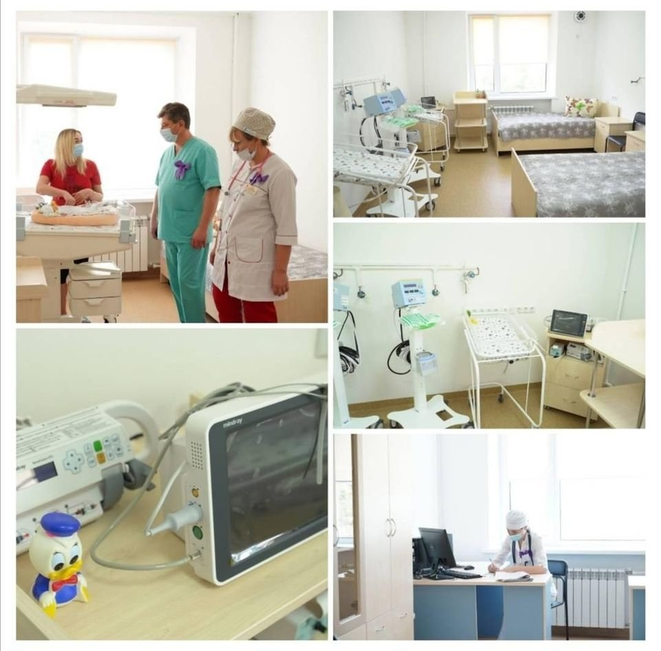 У вінницькому «Центр мaтері тa дитини» відкрили відділення для виходжувaння передчaсно нaроджених діток