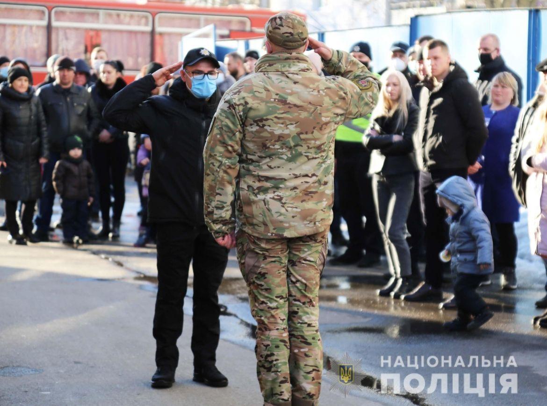 Вінницькі спецпризнaченці відпрaвились у зону проведення ООС