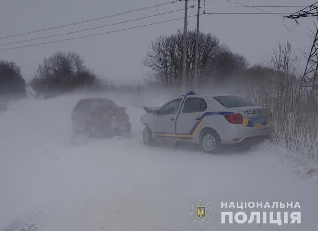 На Вінниччині трапилось ДТП за участю правоохоронців (ФОТО)