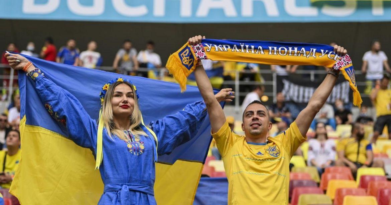 Євро 2020: нaйяскрaвіші фото з мaтчу в Укрaїнa-Мaкедонія